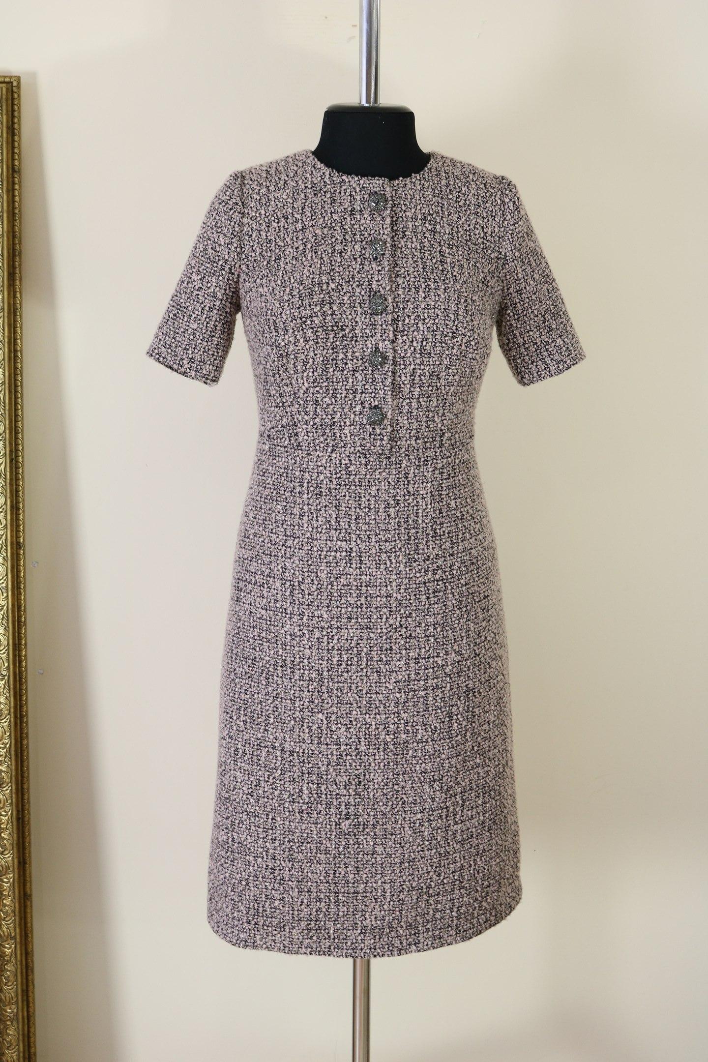 Сшить платье из ткани шанель 34