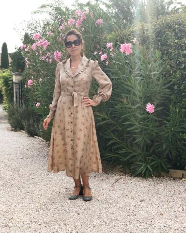 Пошив платья для Евгении в ателье Альта нова