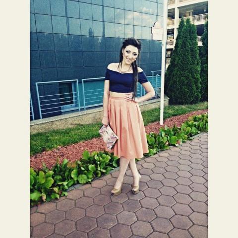 Красавица Янина в юбке от ателье atelieraltanova, отзыв