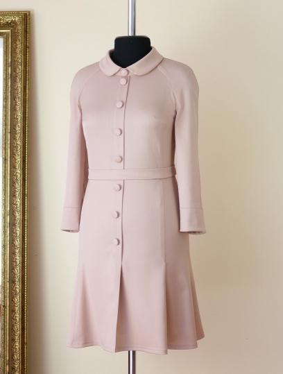Розовое платье, что одеть на день рождение, что одеть на новый год, красивое платье, нежное платье, платье ульяны сергеенко, шерстяное платье, юбка годе, осеннее платье, фасон платья 2018, пошив одежды на заказ, нарядное платье, платье на каждый день, купить шерстяное платье