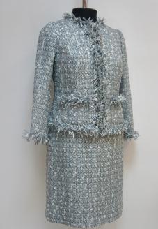 пиджак шанель ,костюм шанель, chanel jacket, chanel, пошив жакета шанель