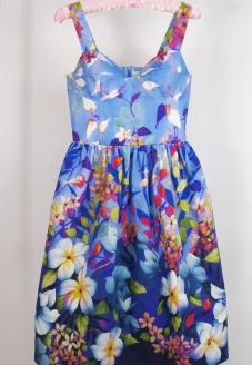платье на любой случай, платье летнее белое, платье летнее на заказ, платье белое шифоновое, платье коктейльное лёгкое, платье с  юбкой полусолнце, платье летнее полусолнцем, платье без рукавов лето, платье на бретелях, голубой, сарафан, лето, лен, льняной сарафан, красивый сарафан, летнее платье, нежность, льняное платье, бохо стиль, Бохо платье, стиль бохо, прованс, купить льняное платье, купить льняной сарафан, купить голубой сарафан