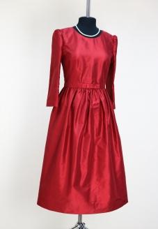 нарядное шелковое платье, красивое платье, red dress, red silk dress,taffeta dress, платье для мамы невесты, платье для мамы жениха, платье на свадьбу, платье в стиле new look, new look dress, odry hepburn, ателье альтанова, купить шелковое платье,индивидуальный пошив минск, пошив одежды в минске , пошив на заказ минск