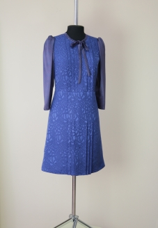 синее платье, жаккардовое платье, нарядное платье , платья минск купить