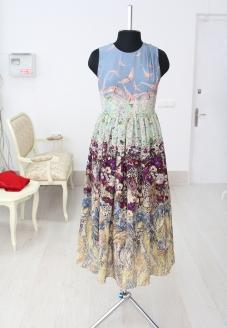 платья из натурального шелка купить минск, платье из натурального шелка купить москва, платья минск, купить шелковое платье минск, шелковые платья москва, шелковое платье  в цветы, valentino dress, silk floral dress, atelier altanova, модные летние платья, купить модное летнее платье