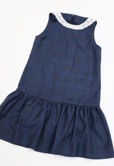 пошив для детей, школьный сарафан, школьное платье, платье для девочки