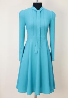 эффектное платье , эффектный сарафан, красивое платье, голубое платье , платье с воланами, платье голубого цвета, модно платье 2018, модное платье 2017, женственное платье, яркое платье, пошив на заказ минск, инд пошив минск, пошив платья минск, белорусские дизайнеры, дизайнерская одежда, красивая одежда минск, платье небесного цвета, купить красивое платье минск, купить платье из шерсти, женское платье купить, модные платья 2018