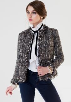 черный, твидовый костюм, твидовый жакет, черный жакет, женский жакет, нарядный жакет, стильный жакет, гранж, гранжевый стиль, стильный пиджак, жакет Шанель, стиль карла лагерфельда, образ шанель, стиль шанель
