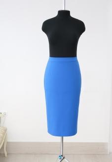 pencil skirt, skirt , blue skirt, atelier altanova, пошив минск, юбка карандаш, юбка на заказ, стильная юбка, синяя юбка, юбка из хлопка