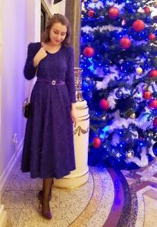violet dress, gown, dress, красивое платье, нарядное платье, красивые вечерние платья, платье для театра, atelier altanova