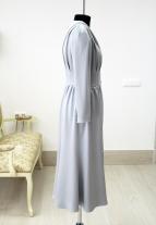 фасоны вечерних платьев, серо-голубое платье, пошив платье в минске, пошив платьев