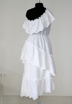 Сарафан, платье на одно плечо, atelier altanova, swiss dot dress, summer dress, one shoulder dress, платье для романтического свидания, платье на море, платье на отдых, купить платье для отдыха минск,  воздушный сарафан, белый сарафан, платье на выход, известные белорусские дизайнеры, платья белорусских дизайнеров